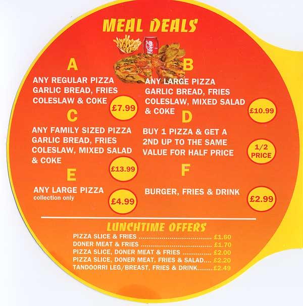 Apna Pizza Indian Restaurant On St Saviours Rd Leicester