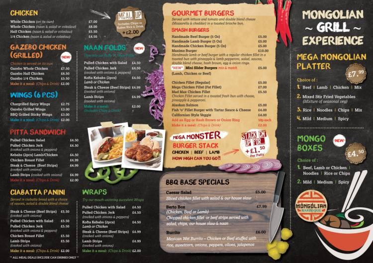 Bar B Q Base Chicken restaurant on Uppingham Rd, Leicester - Everymenu