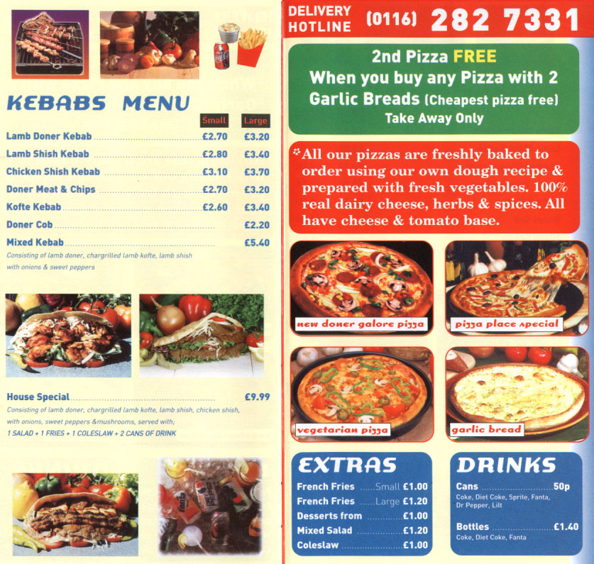 pizza places leicester
