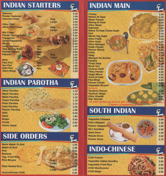 Star vashu dhaba indian restaurant on narborough rd for Cuisine of india wigston