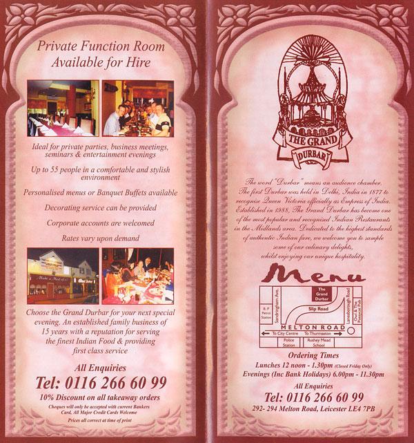 Indian Restaurant Oakham