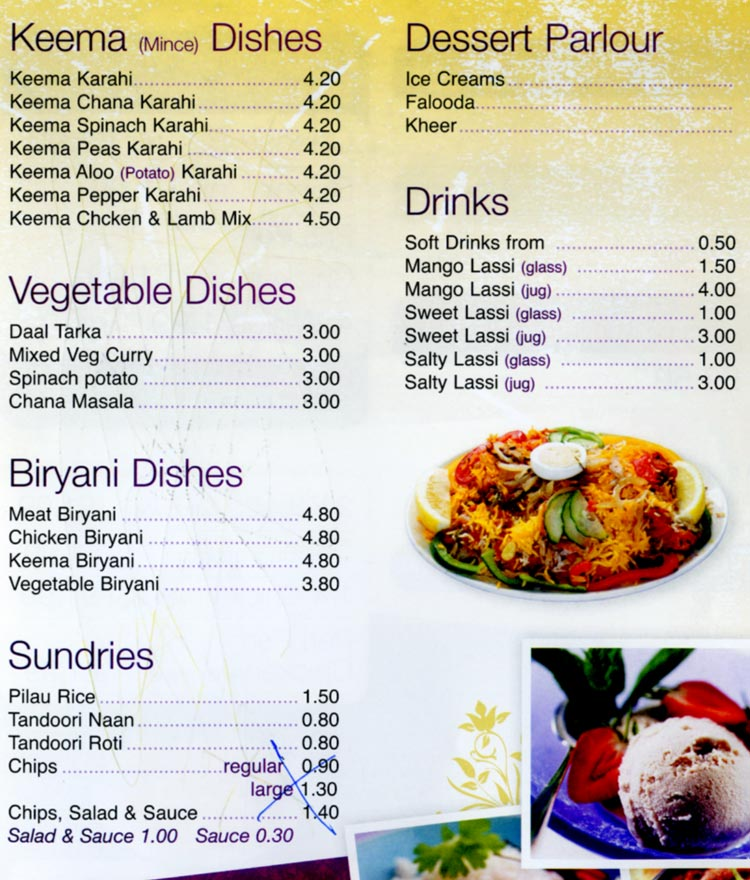 Lahore kebab kebab restaurant on melton rd leicester for Cuisine of india wigston