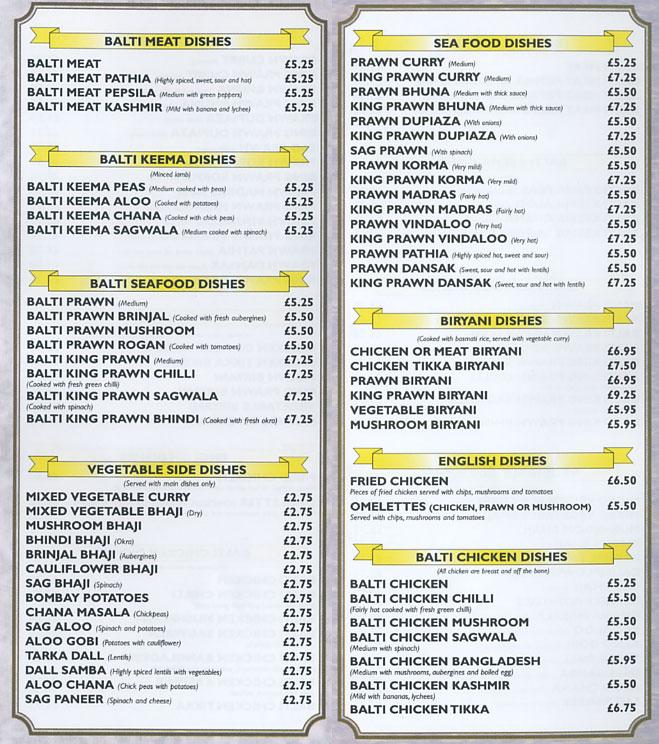 Maharajah Tandoori Indian Restaurant On Albert St, Rugby