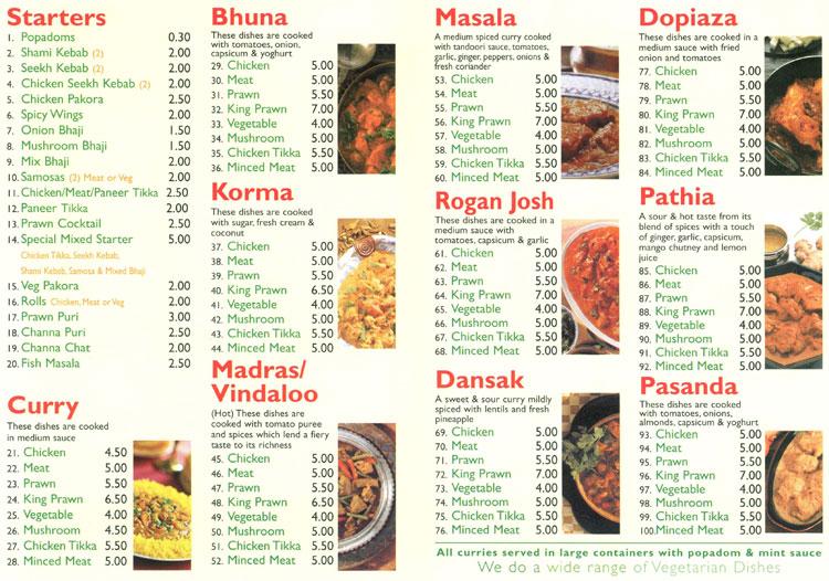 Indian Restaurant Southwell