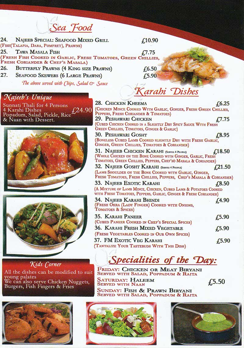 Anajeeb cuisine indian restaurant on conduit st leicester for Cuisine of india wigston